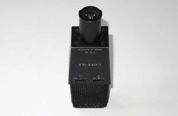 Vintage AKG C414 B-ULS Multi-Pattern Condenser Mic w/Clip, Pouch