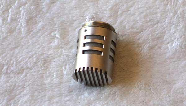 VINTAGE AKG C452 EB Condenser Mic w/AKG CK1 Cardioid Capsule [Nickel]