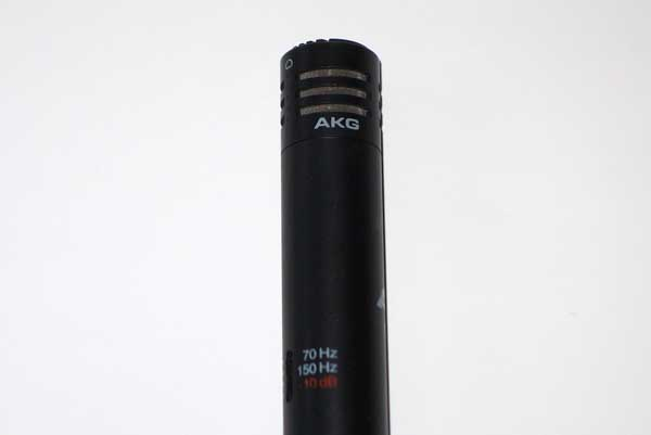 1993 AKG CK61 Cardioid Mic Capsule for AKG C460B + C480B Condenser MIcs, w/Case, Frequency Chart