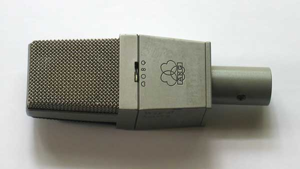 VINTAGE AKG C414COMB w/Teflon CK12 Capsule serviced and setup by Tony Merrill