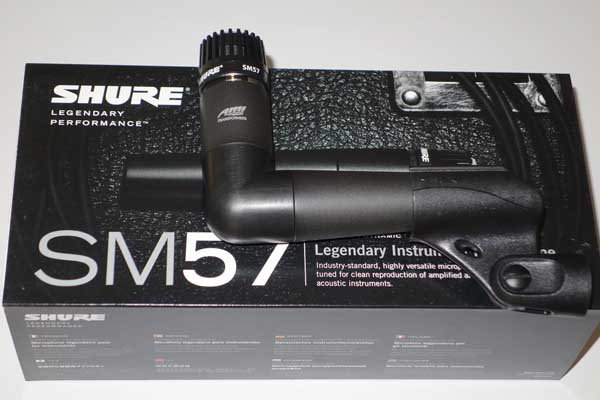 NEW Shure SM57 - Dynamic Mic Upgraded w/ AMI T58 Boutique Transformer and the Granelli Audio Labs G5790 Elbow