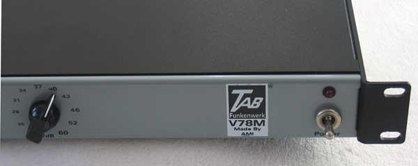 TAB-Funkenwerk V78M Tube Preamp by Oliver Archut / AMI
