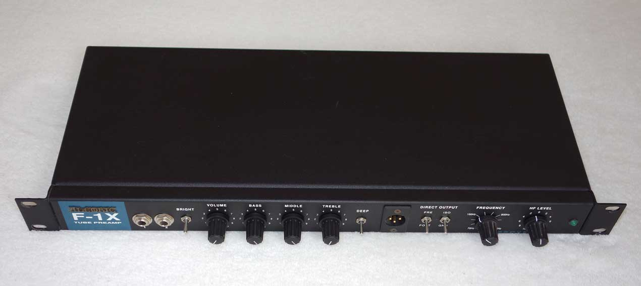 alembic f 1x tube preamp for bass or guitar w  12ax7 tube Passive Preamp Schematic