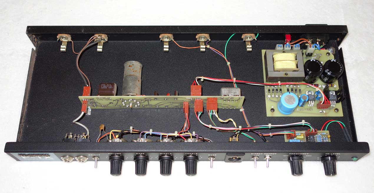 Alembic Tube Preamp Schematic