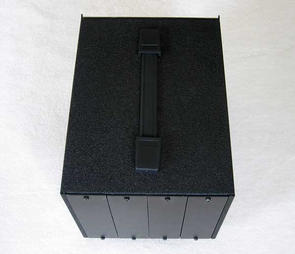 AUDIENT Black Series BB4 4-Space Rack Enclosure Lunch Box for Audient Black Pre Comp EQ annd ADC