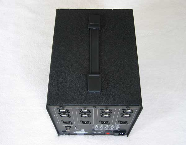 AUDIENT Black Series BB4 4-Space Rack Enclosure Lunch Box for Audient Black Pre Comp EQ & ADC