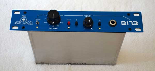 Black Lion Audio B173 Mic Preamp / DI, Neve 1073-Style Preamp