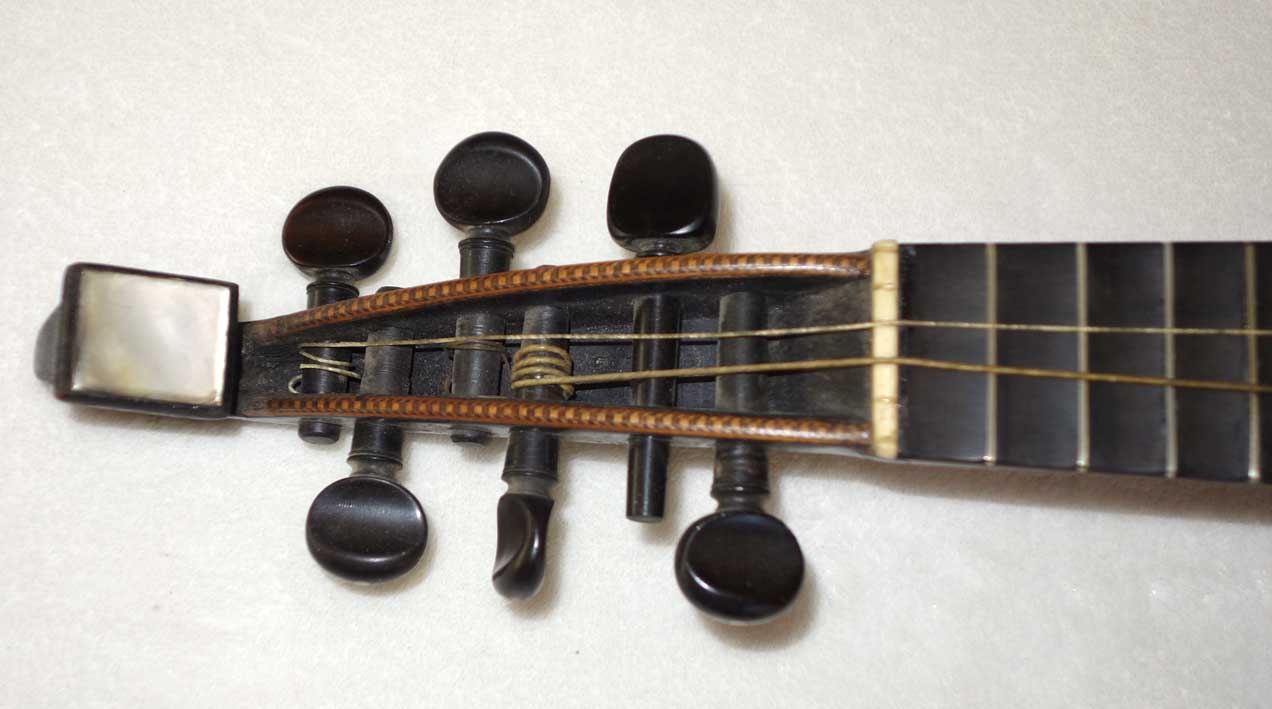 1884 Enrico Rocca Mandolin Genoa, Italy Intact Label dated 1884