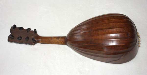 1769 Joannes Vinaccio (Napoli, Italy) Baroque Mandolin, Spruce Top