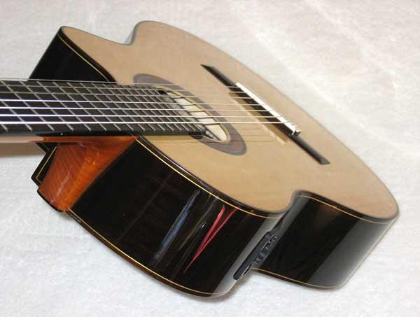 2010 Bartolex SRS7CEL 7-String Classical Harp Guitar