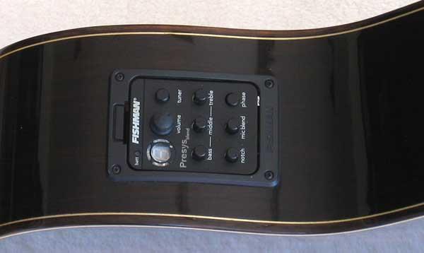 2010 Bartolex SRS7CEL 7-String Classical Harp Guitar Pickup