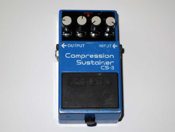 Boss CS-3 Compression Sustainer Guitar Pedal Taiwan