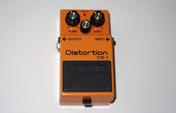 Boss DS-1 Distortion Guitar Pedal Taiwan