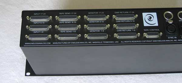 Endless Analog CLASP Processor for 24-Track Analog Tape Recorders