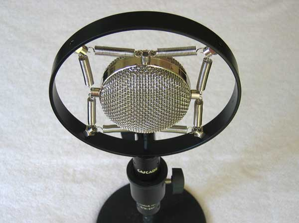 NEW Cascade Knuckle Head Ribbon Mic upgraded with AMI TR42 Boutique Ribbon Mic Transformer