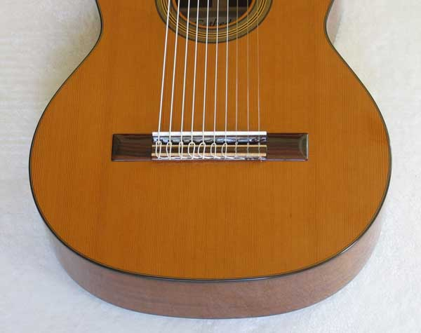 Cathedral Guitar Model 15 Cedar / Mahogany Classical 10-String Harp Guitar w/ Case
