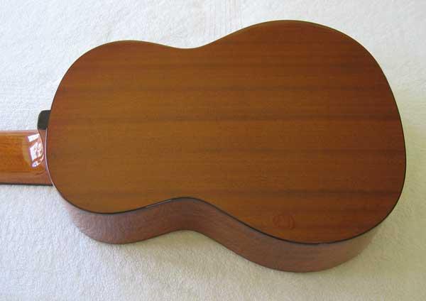 Cathedral Guitar Model 15 Cedar / Mahogany Classical 10-String Harp Guitar w/ Case
