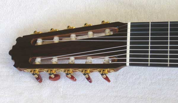 2012 Cathedral Guitar Model 40 w/Bernabe Diamond Bracing, Cedar O-Port