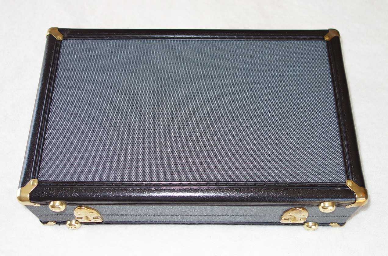 Cathedral Guitars SDC•CG Small Diaphragm Condenser Microphone Case, w/Hygrometer, Reusable Silica Gel