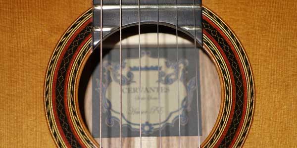 Cervantes Hauser PE Guitar [Cedar/Palo Escrito]