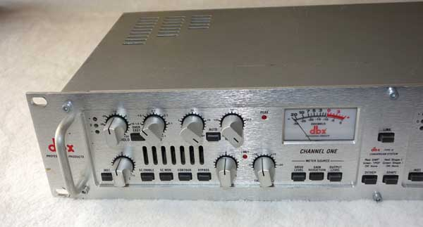 DBX 566 Dual-Channel Tube Compressor