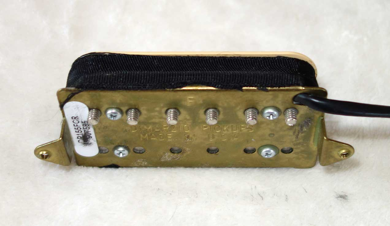 Used DiMarzio TONE ZONE Humbucking PUP, 18K ? w/4-Conductor, F Spacing, Double Cream Covers, DP155