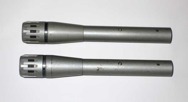 Vintage Electro Voice C15e Condenser Mic Pair, Cardioid Pattern