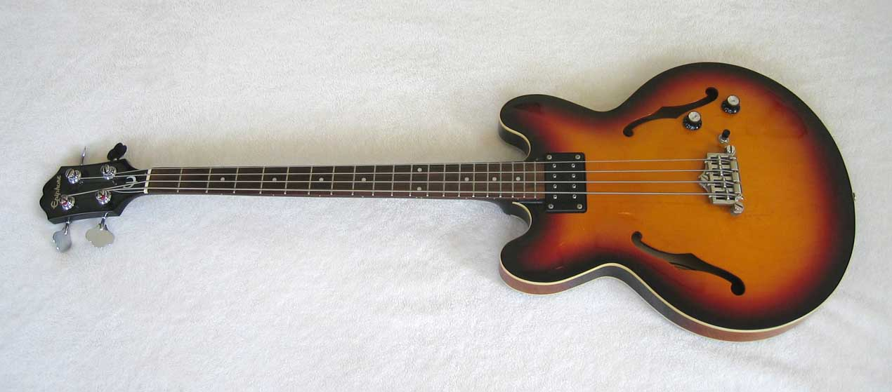 Epiphone Rivoli Reissue EB-0 Style Bass with Upgraded Dimarzio Model ...: www.m221b.com/EpiRivoli/RivoliHI.html