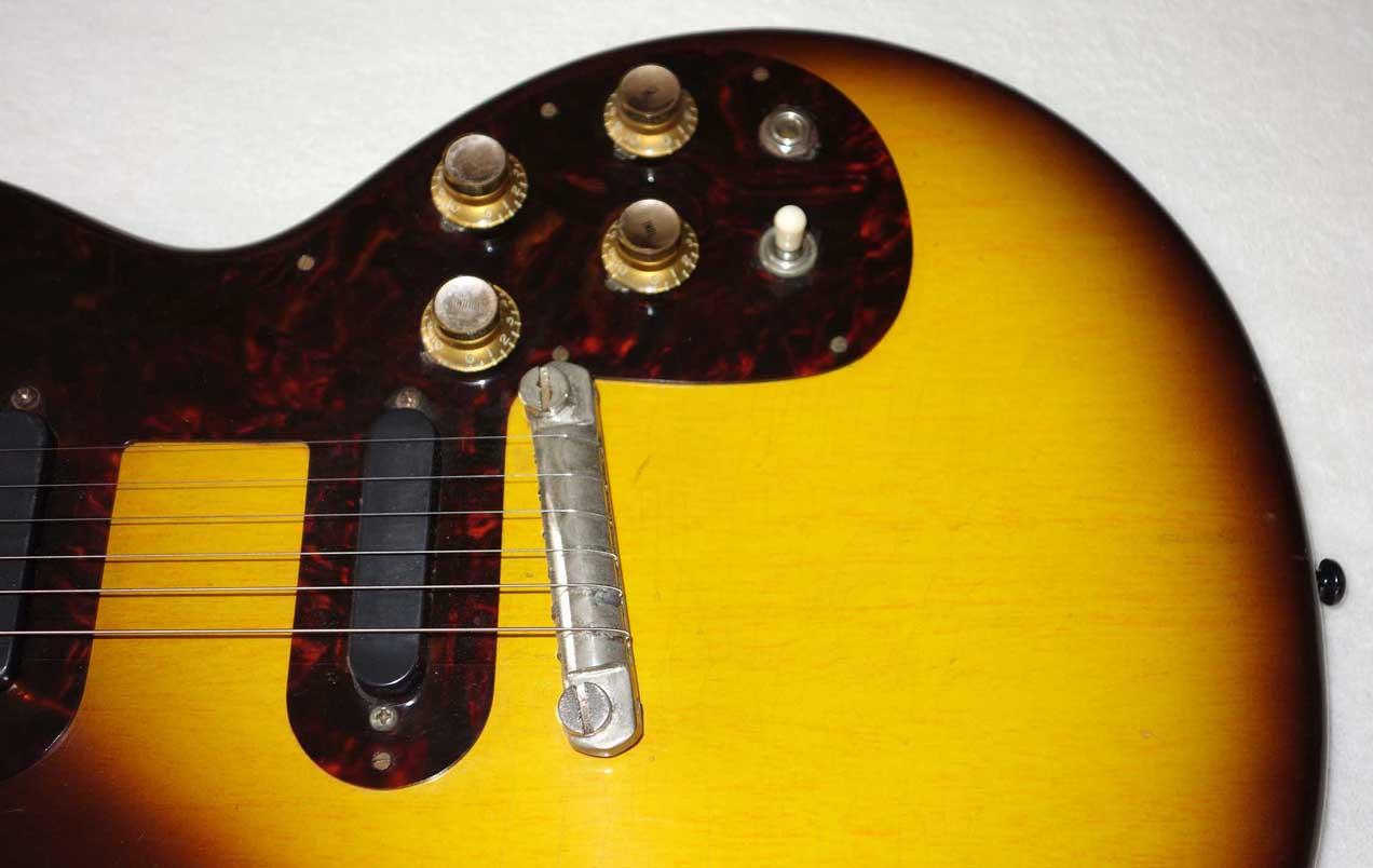 Vintage 1961 Gibson Wraptail Bridge  for Les Paul Junior, Melody Maker + Others