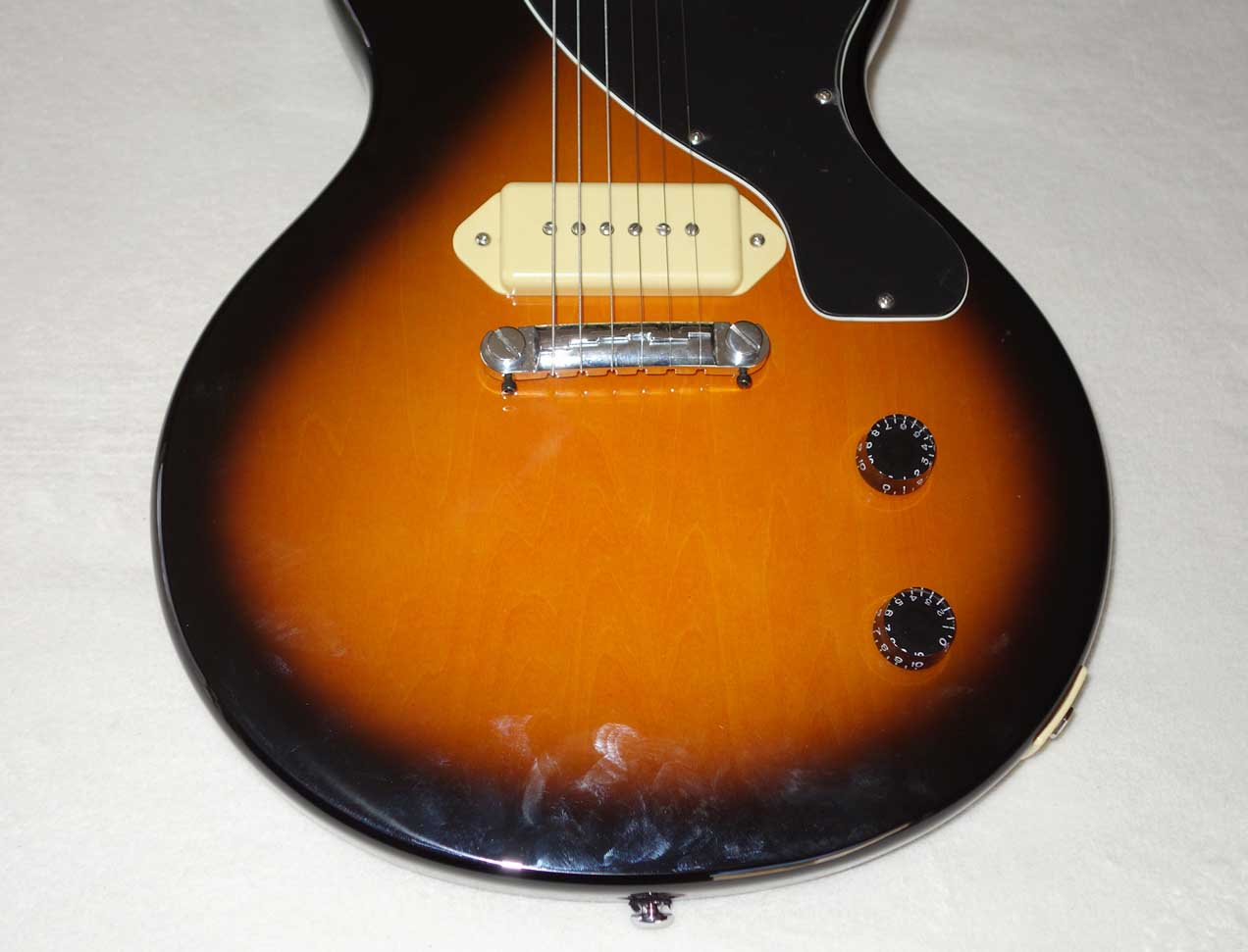 2006 Epi Les Paul Junior P90 Sunburst Finish