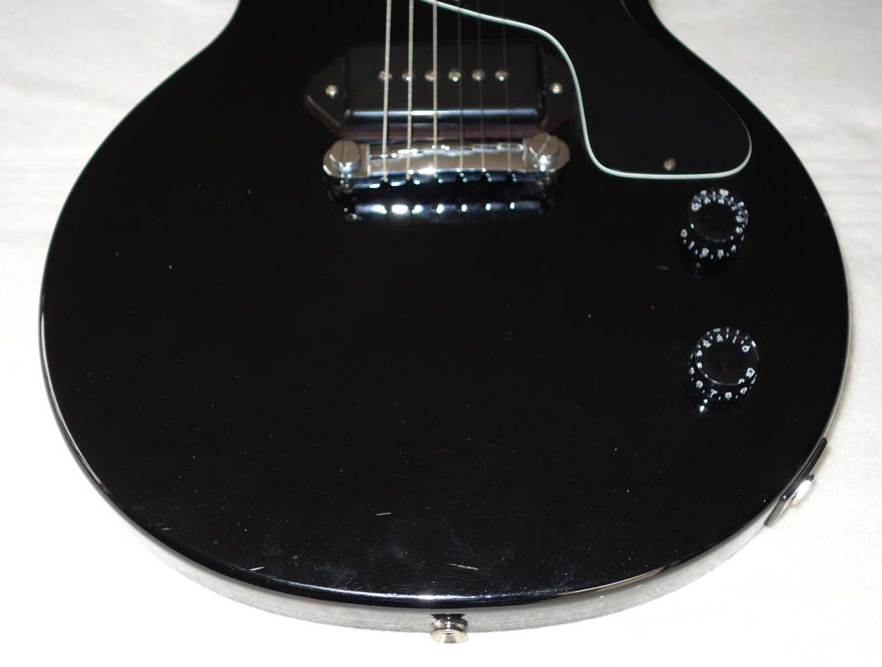 2003 Epiphone Les Paul Junior w/Epi P90 Mod, Upgraded Tuners, USA Posts/Threads, Made by SaeJun (China)