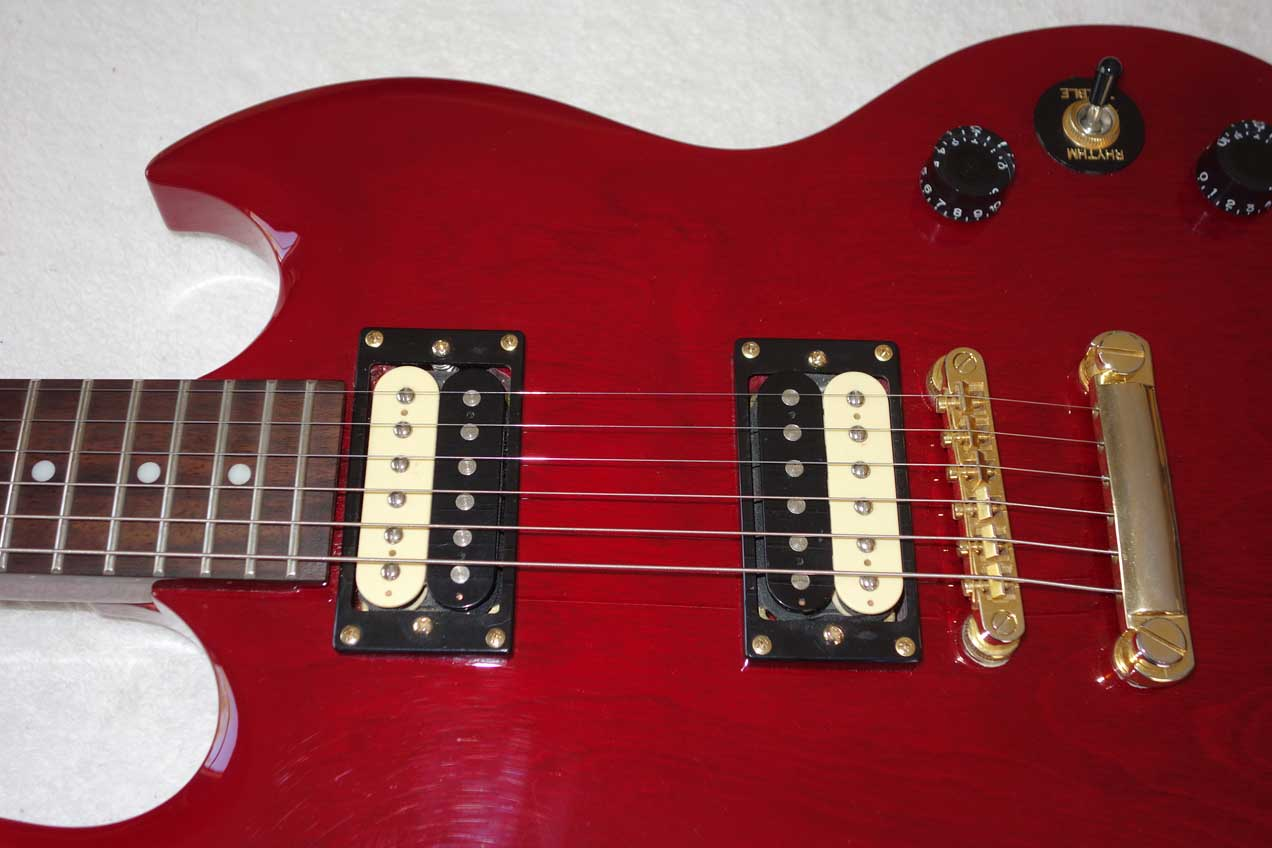 2004 Epiphone Sg Special Limited Edition, Xebra PUPs, Gold Hardware