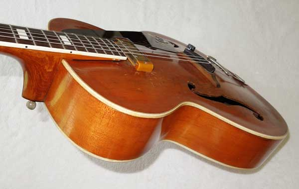 Vintage Epiphone Zephyr Archtop Guitar w/New York PIckup, Soft Case