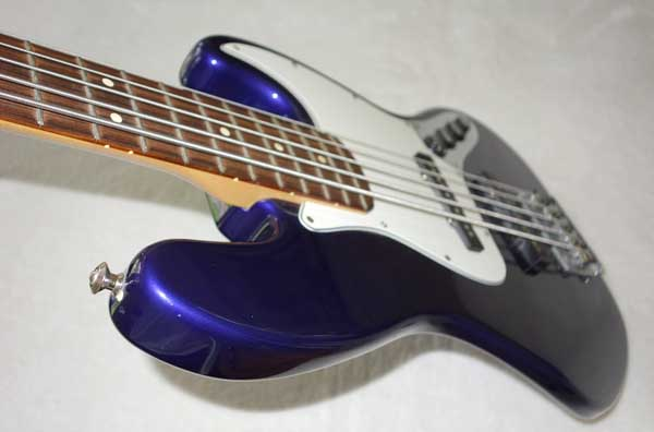 fender jazz bass v 5 string bass midnight blue mim ebay. Black Bedroom Furniture Sets. Home Design Ideas