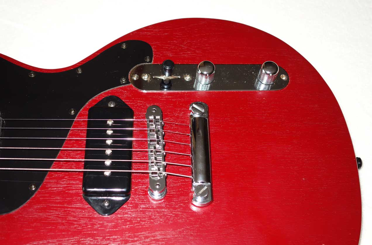 2003 Gibson Melody Maker, Modded�w/Rio Grande Dirty Harry PUP, Tele Switch Plate, Side Mount Jack