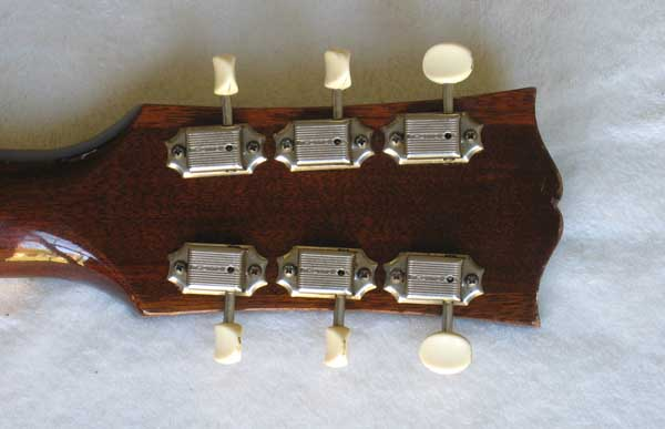 VINTAGE 1959 Kluson Deluxe Tuner Set for Gibson ES225, ES330 Guitars