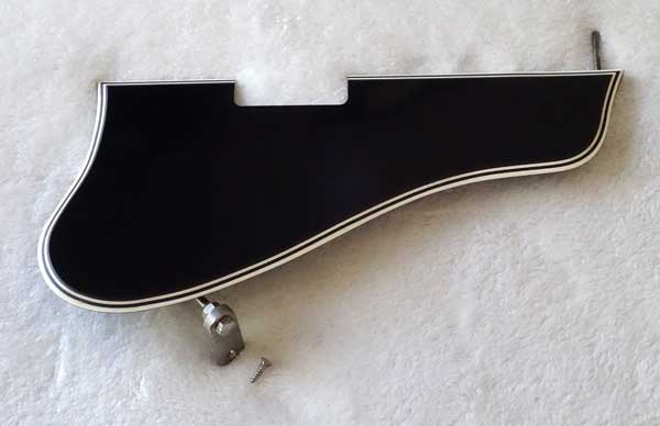 Vintage 1959 Gibson ES-225 Pick Guard w/Original Bracket + Mounting Screw