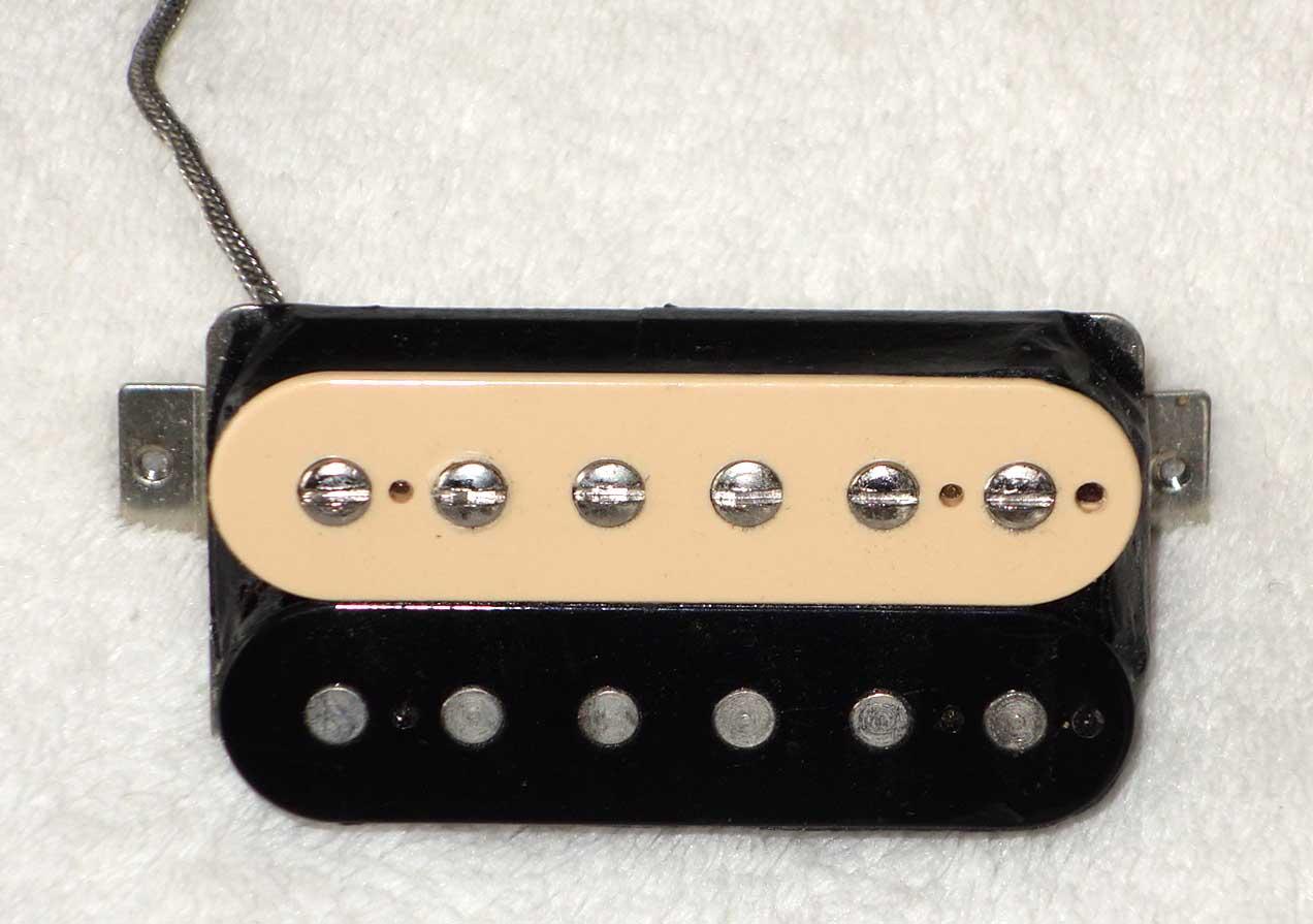 2015 Gibson Zebra '61 Lead Humbucker, Burstbucker Type HB w/Asymmetrical Coil Winds