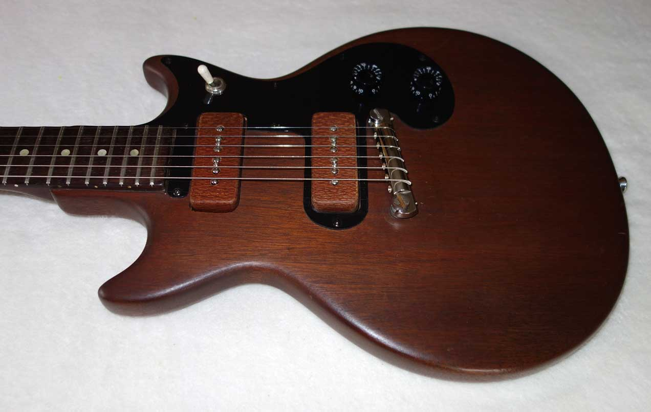 Vintage 1961 Gibson Melody Maker, w/Modded Soapbar P90s