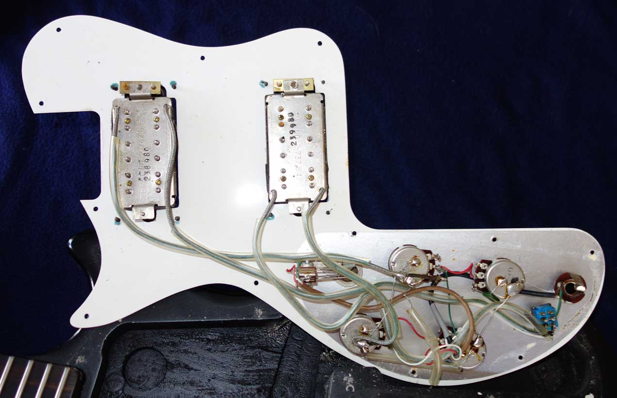 Vintage 1980 Gibson Dirty Fingers Zebra Humbucking Pickup Set w/Coil Splits