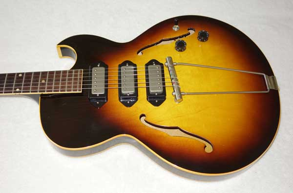 VINTAGE 1956 Gibson ES-225 Guitar, Upgraded w/3x Rio Grande Dawgbucker PUPs, Free-Way 6-Way Switch, Ameritage Case
