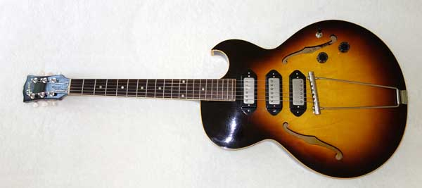 VINTAGE 1956 Gibson ES-225 Guitar, Upgraded w/3x Rio Grande Dawgbucker PUPs, Free-Way 6-Way Switch, Ameritage Case