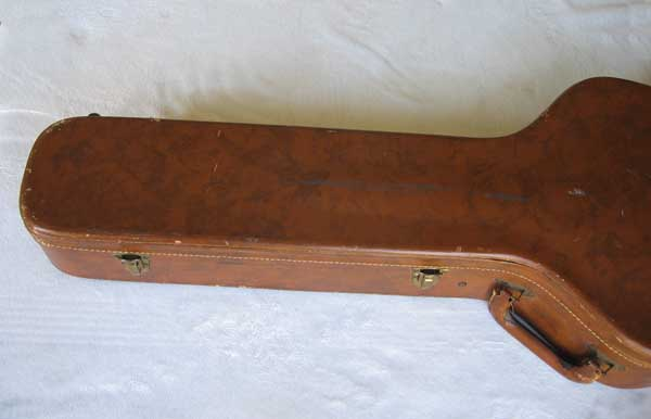 VINTAGE 1959 Stone Case Co. Lifton-Style Case for Gibson ES225, ES330, ES335 Electric Guitars