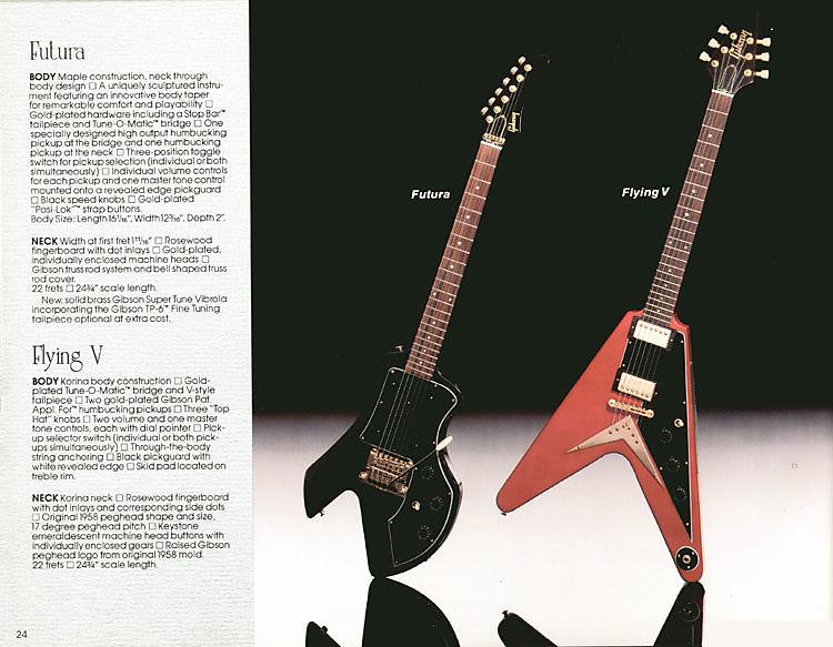 1983 Gibson Catalog Futura