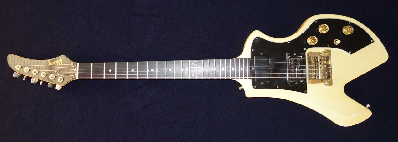 Vintage 1983 Gibson Furura Solid Body Corvus-Shaped Guitar w/Gibson Super Tune Vibrola, Ebony Fingerboard