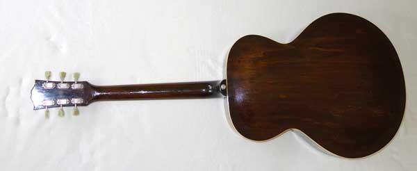 Vintage Gibson L50 Archtop Guitar w/Case, Sunburst Finish
