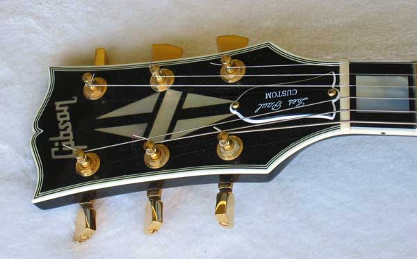 1989 Gibson Les Paul Custom Electric Guitar