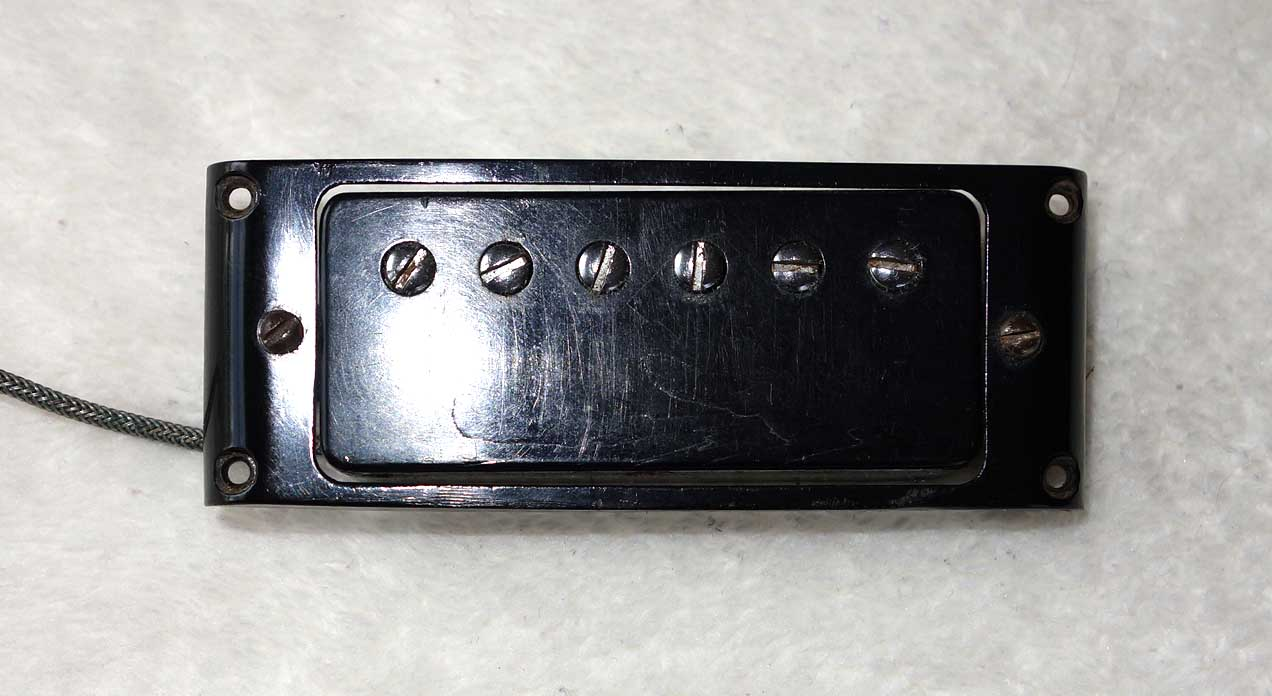 Vintage 1972 1972 Pat. # PAF Mini HB for Gibson SG Special