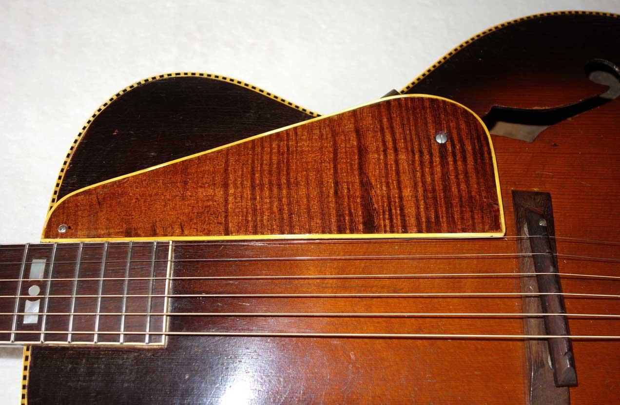 "PRE-WAR 1938 Recording King 1124 / M5 (Gibson L4) 16"" Archtop w/New Frets, Truss Rod, Fancy Inlays!"