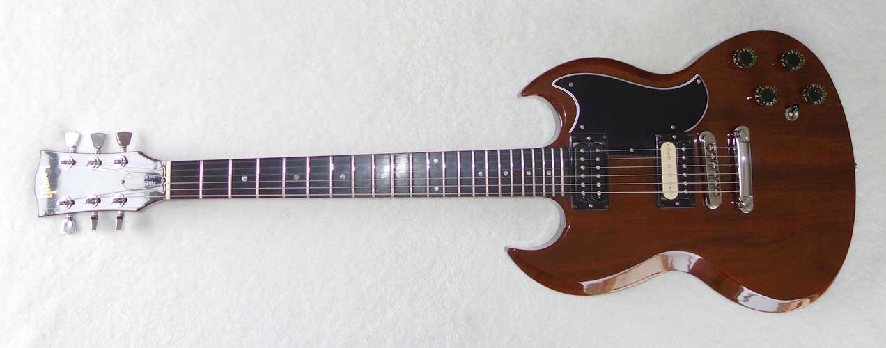 Vintage 1983 GIBSON SG Deluxe - Firebrand Walnut, All Original